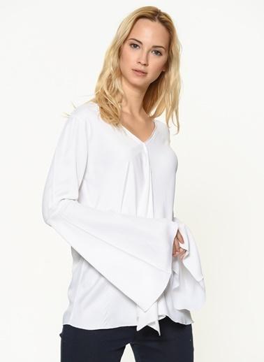 Braez Bluz Beyaz